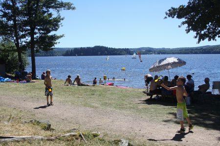 Zwemmen in de Morvan bij Lac des Settons
