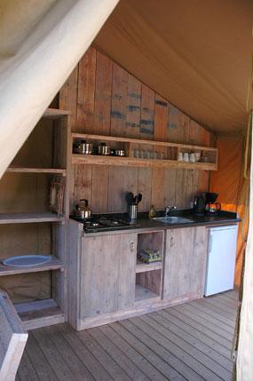 Luxe Lodge tenten - Morvan Rustique